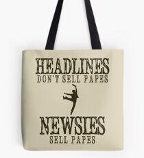 Was macht eine Schlagzeile gut? Tasche