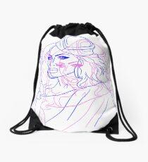 Tongue Pop/Art Drawstring Bag