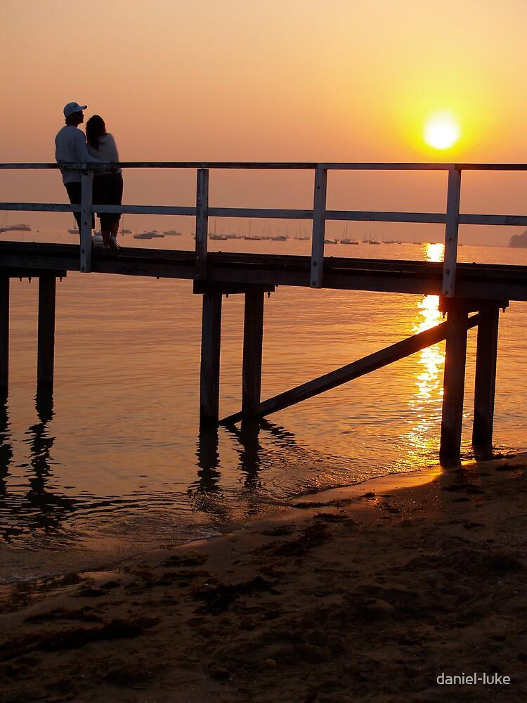 Sunset on sand by daniel-luke