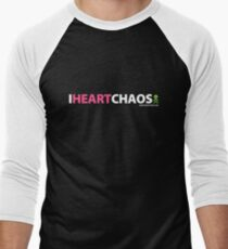 I Heart Chaos Men's Baseball ¾ T-Shirt
