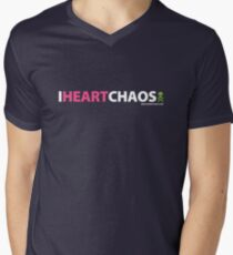 I Heart Chaos Men's V-Neck T-Shirt
