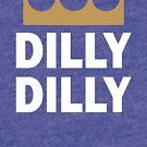 KC Dilly Dilly Tri-Blend Royal Blue Shirt - Kansas City Dilly Dilly Royal Blue Shirt by 785Tees
