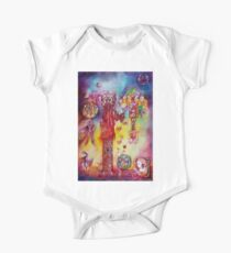 GARDEN OF THE LOST SHADOWS ,FAIRIES AND BUTTERFLIES One Piece - Short Sleeve