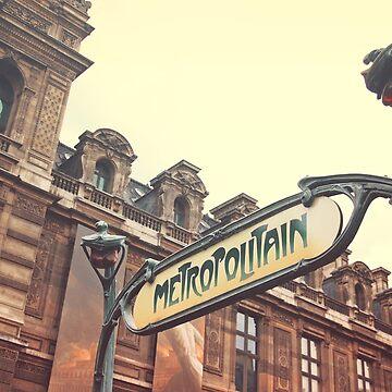 Paris Metro by iamsla