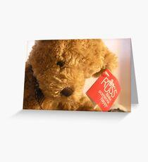 Teddy's Loney Greeting Card