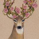 Deer Roses by Teresewa