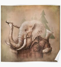 Lumberphant Poster