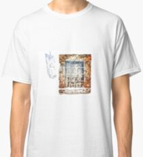 Window With Shadow On The Wall Classic T-Shirt