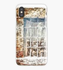 Window With Shadow On The Wall iPhone Case