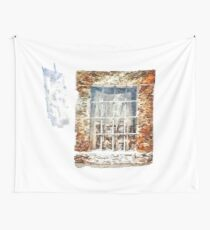 Window With Shadow On The Wall Wall Tapestry