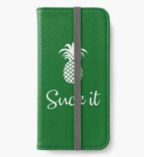 Suck It iPhone Wallet/Case/Skin