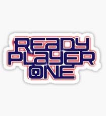 Bereit Spieler Eins - Logo Sticker