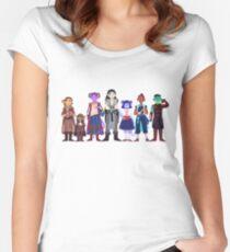 Kritische Rollenspiele 2 Tailliertes Rundhals-Shirt