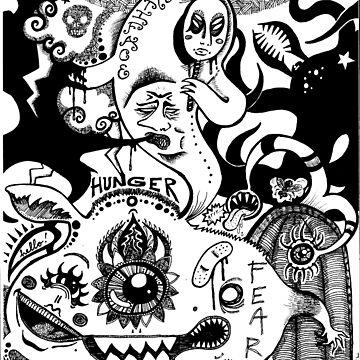 Meet My Demons by LeftHandedLenya