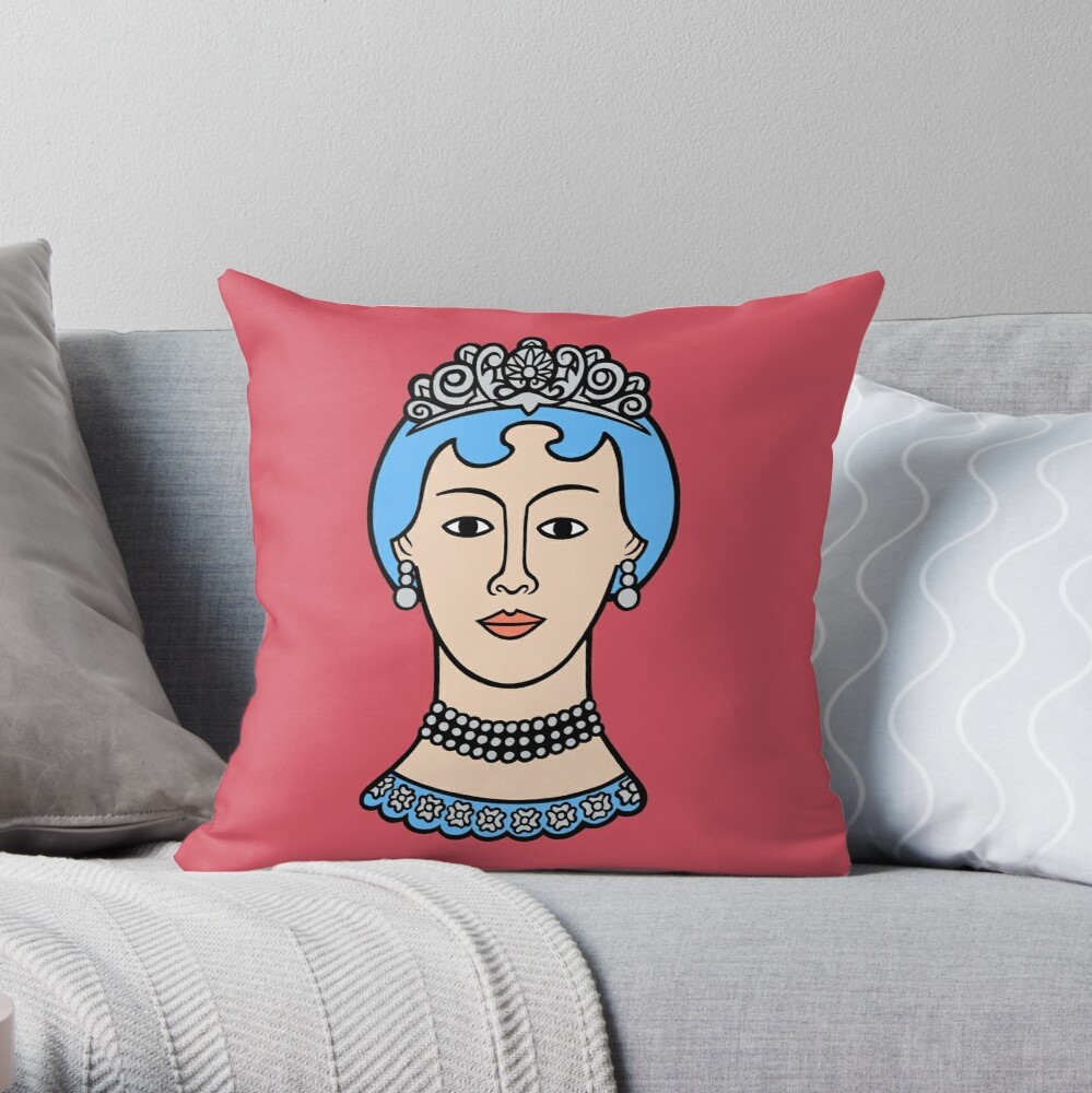 A lady of sorts Throw Pillow