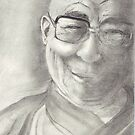 Dalai Lama by conniecrayon