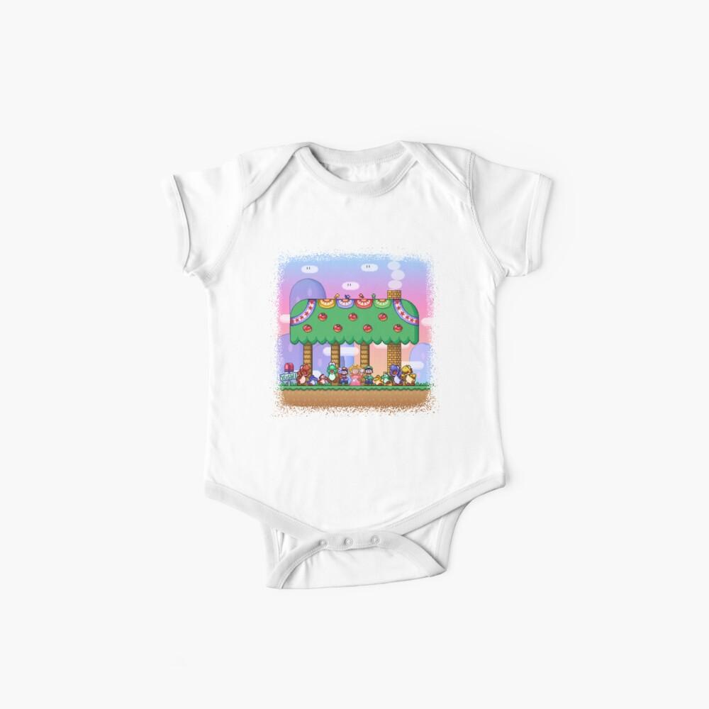 El mundo de Super Mario Bodies para bebé