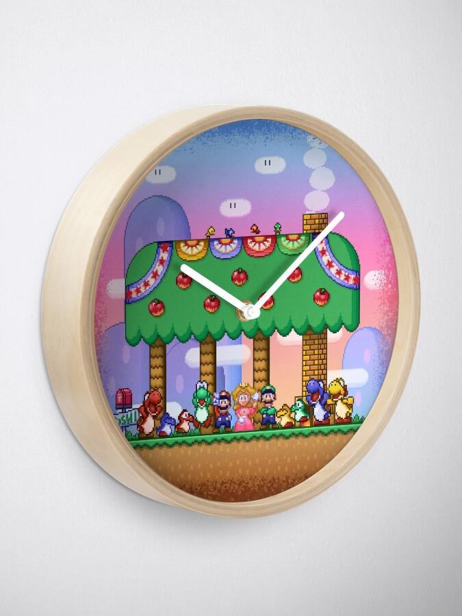 Vista alternativa de Reloj El mundo de Super Mario