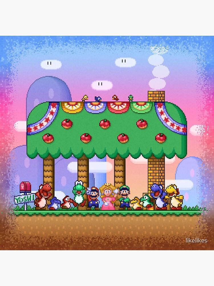 El mundo de Super Mario de likelikes