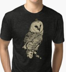 Barn Owl Tri-blend T-Shirt