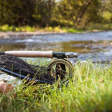 Fly fishing scene by nscphotography