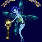 Blue Fairy Key  by Hyrnrg