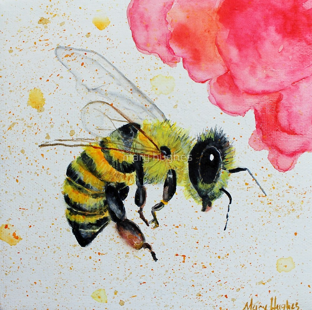 Bee Seen by mary hughes
