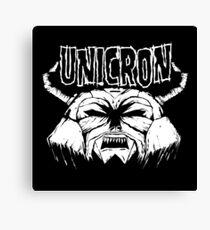 Transformers - Unicron (Danzig) Canvas Print