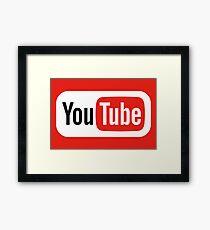 YouTube 2015 Framed Print