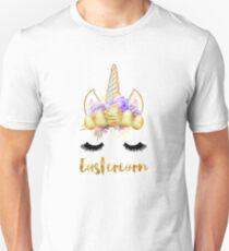 Eastercorn Einhorn Ostern Slim Fit T-Shirt