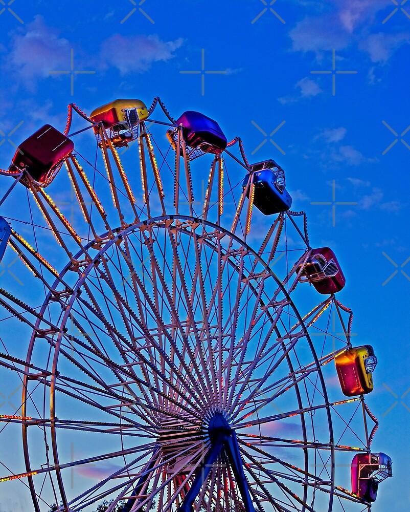 Twisty Ferris Wheel by Buckwhite