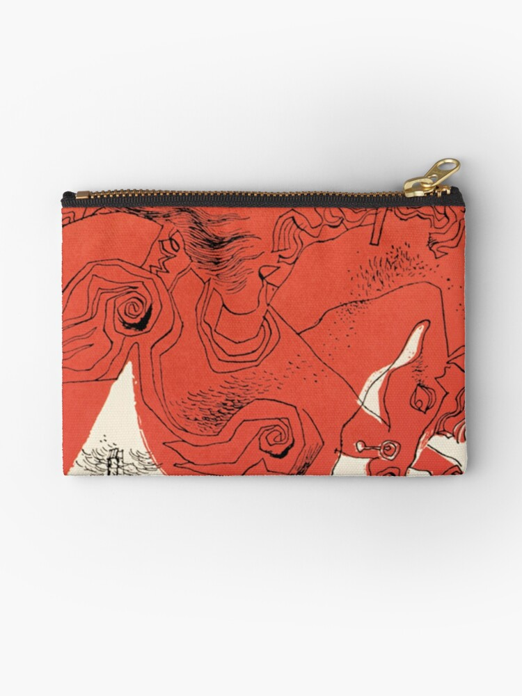 Catcher In The Rye Book Cover Studio Pouches By Jimmywatt Redbubble