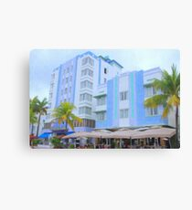 Blue Hotels Canvas Print