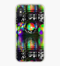 3d bubbly world iPhone Case