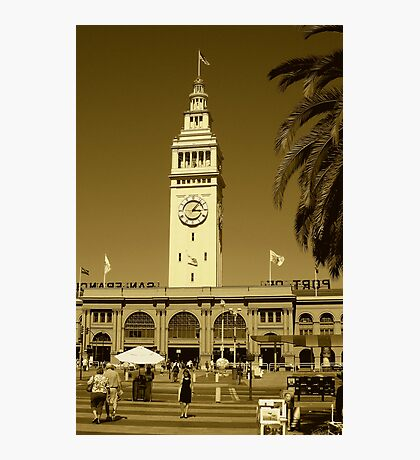 Tower clock Photographic Print