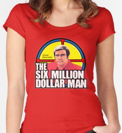 Six Million Dollar Man Women's Fitted Scoop T-Shirt