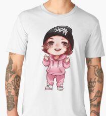 Camiseta premium para hombre Chibi Xan (Lil Xan)