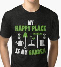 Funny Gardening Apparel Tri-blend T-Shirt