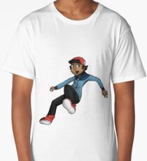 Pokemon Hilbert Long T-Shirt