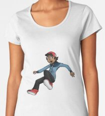 Pokemon Hilbert Women's Premium T-Shirt