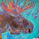 Manny Moose by TraceyMackieArt