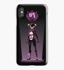 Shadow of the teddy bear iPhone Case