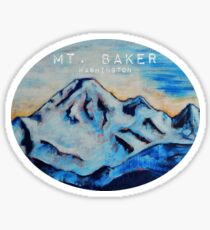 Mt. Baker Washington Sticker