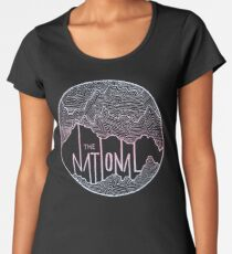 The National line art Women's Premium T-Shirt