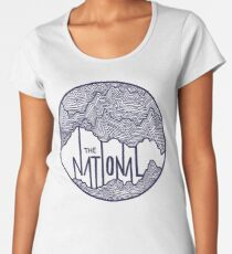The National  Premium Scoop T-Shirt