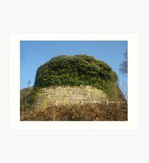 Liverpool Castle at Rivington Art Print