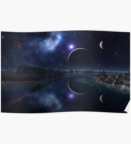 The Sun and the Moon and the Stars Poster