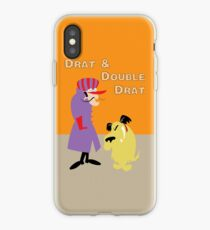 Drat & Double Drat iPhone Case