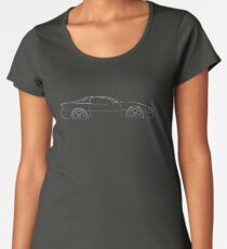 74aa31a0 Camaro Z/28 - profile stencil, white Women's Premium T-Shirt