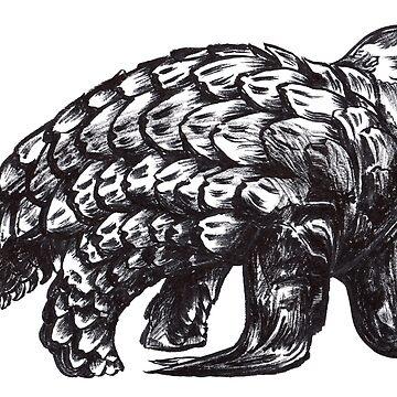 Pangolion by cizauskas
